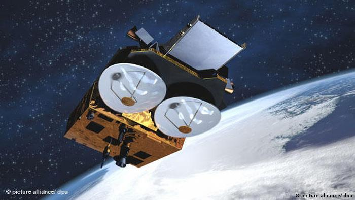 The research satellite Cryosat was supposed to measure the thickness of the polar ice caps. But due to a problematic navigation algorithm, the satellite failed to reach its orbit and crashed in 2005 in the Arctic Ocean. ESA launched a replacement satellite, the Cryosat-2, in 2010.