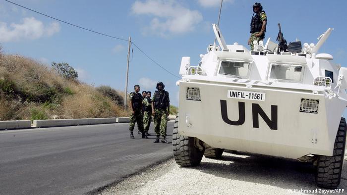 Libanon Nakura UN-Soldaten