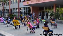 Erster Schultag in Nordmazedonien