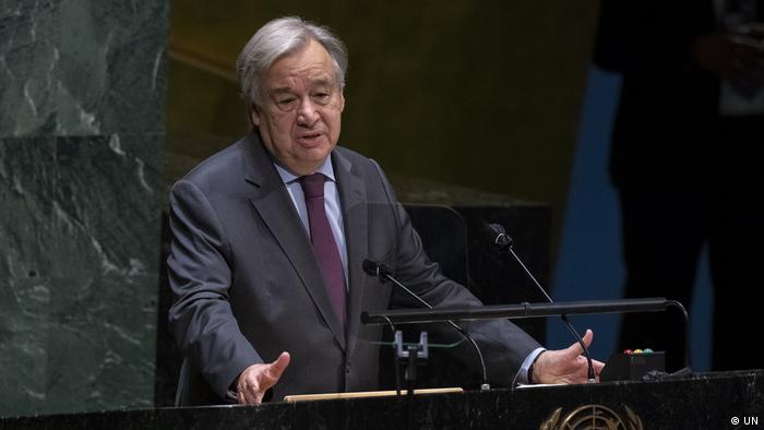 Secretário-geral ONU, António Guterres