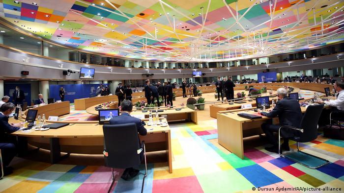 Під час саміту ЄС у Брюсселі, 1 жовтня 2020 року
