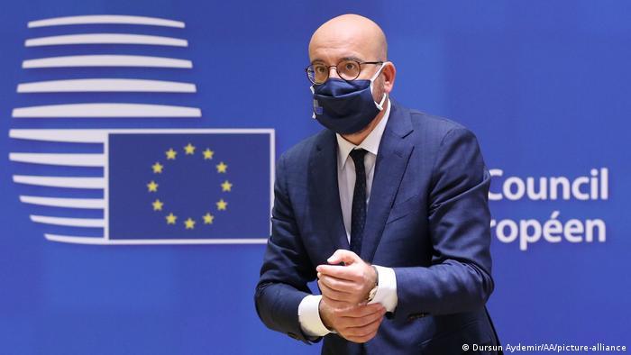 Brüssel EU Sondergipfel Charles Michel (Dursun Aydemir/AA/picture-alliance)