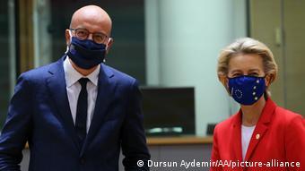 Глава Евросовета Шарль Мишель и председатель Еврокомиссии Урсула фон дер Ляйен