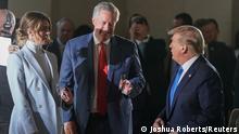 USA Hope Hicks, Mark Meadows und Donald Trump