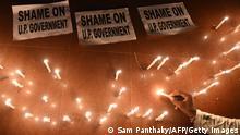 Indien Uttar Pradesh | Proteste nach Vergewaltigung