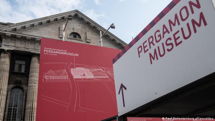 Vandalismus Auf Berliner Museumsinsel Uber 60 Kunstwerke Beschadigt Kultur Dw 21 10 2020