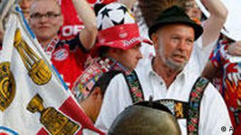 Fans des FC Bayern München (Foto: AP)