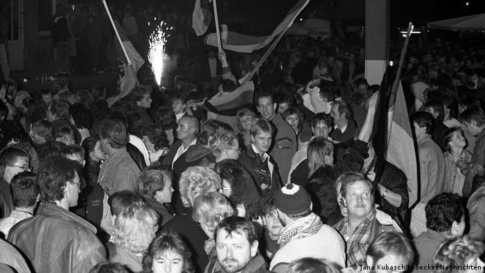 Deutschland Einheitsfeier 1990 Selmsdorf