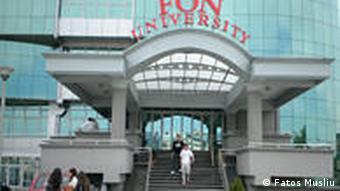 FON Universität Skopje Mazedonien