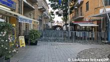 Zypern Grüne Grenze in Nikosia