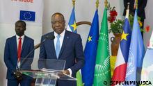 Leiters der UNU-Mission in der Zentralafrikanischen Republik, Mankeur Ndiaye La célébration de l'an 1 de l'Accord Politique pour la Paix et la Réconciliation en Centrafrique (APPR-RCA)
