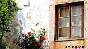 Der Blick aus meinem Fenster Obidos Portugal