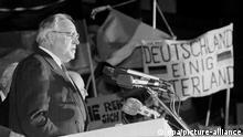 Deutschland | Helmut Kohl 1989