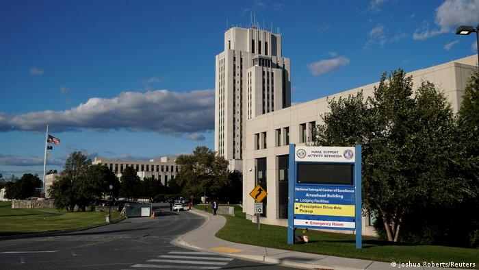 Bethesda, Maryland | Walter Reed National Military Medical Center (Joshua Roberts/Reuters)