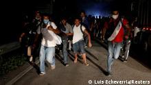 Guatemala San Pedro Cadenas | Migranten aus Honduras auf dem Weg in die USA vor der Grenze zu Mexiko