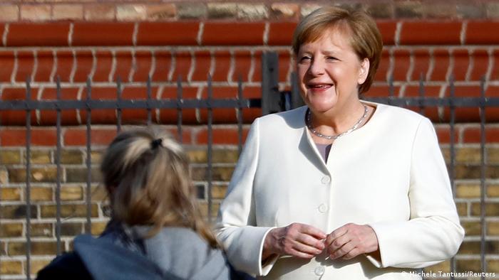 Angela Merkel la festivităţile oficiale de la Potsdam, dedicate Zilei Unităţii Germane