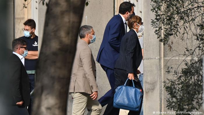 Italien Catania Matteo Slavini vor Gericht