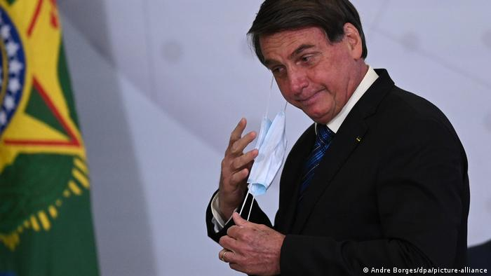 Brasilien Jair Bolsonaro (Andre Borges/dpa/picture-alliance)