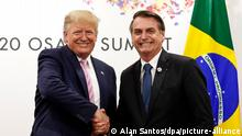 Corona-Pandemie | Donald Trump und Jair Bolsonaro
