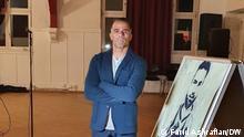 Deutschland   Gedenkeveranstaltung zu Ehren von Navid Afkari in Mainz