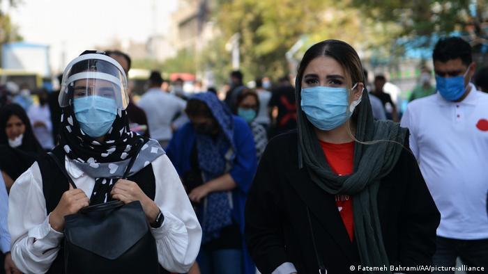 Iran |Coronavirus |Straßenszenen in Teheran