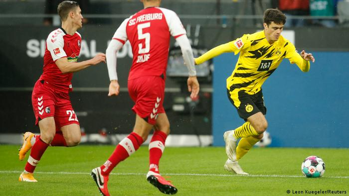Gio Reyna delivered perhaps his best performance for Dortmund to date