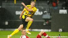 Bundesliga - Borussia Dortmund gegen SC Freiburg | Tor Haaland