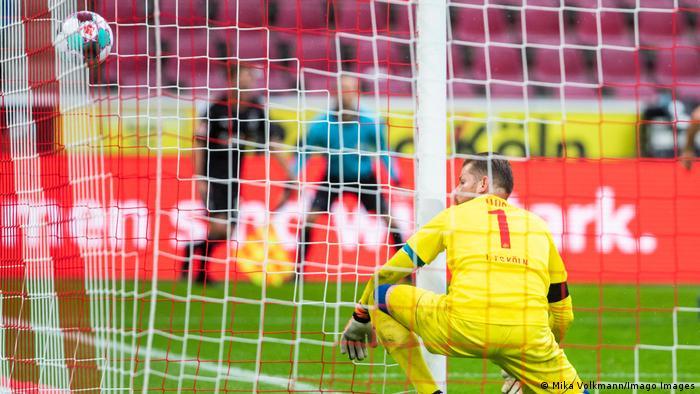 Bundesliga 1 FC Köln gegen Borussia Mönchengladbach | Tor Lainer