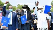 Der Sudan und Rebellengruppen unterzeichnen in Juba ein Friedensabkommen
