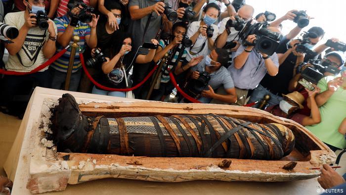 Стародавній Єгипет, саркофаги, Єгипет, некрополь Саккара