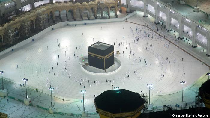 BdTD   Saudi-Arabien Mekka   Erste Pilger nach Coronasperrung