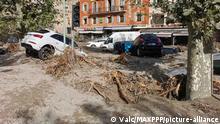 Frankreich Breil Sur Roya nach Überflutung