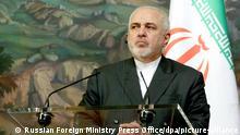 Iran |Außenminister Mohammed Dschawad Sarif