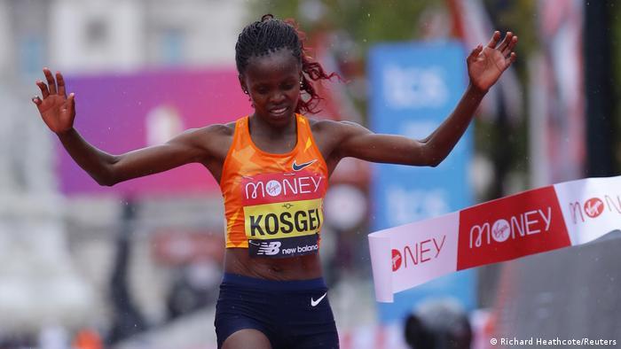 UK Brigid Kosgei gewinnt London Marathon