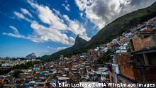 July 2, 2020: RIO DE JANEIRO, BRAZIL, July 2, 2020 HYGIENIZATION With the increase in the number of covid-19 deaths in the city, residents of the Santa Marta favela, Botafogo, south zone, increase the number of sanitizations in the community this Thursday, - ZUMAl255 20200702_zip_l255_019 Copyright: xEllanxLustosax