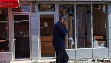 Aserbaidschan |Berg-Karabach | Angriffe in Stepanakert