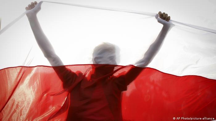 Участник протестов в Минске
