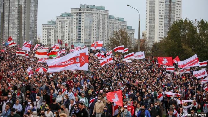 Belarus Protest in Minsk