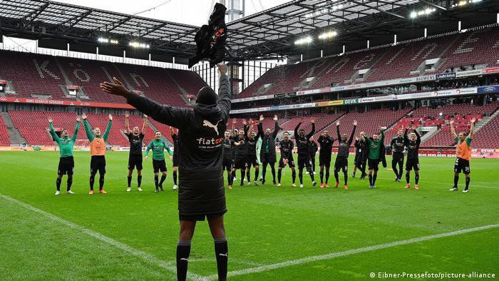 Fußball Bundesliga I 1.FC Koeln - Borussia Moenchengladbach (Eibner-Pressefoto/picture-alliance)