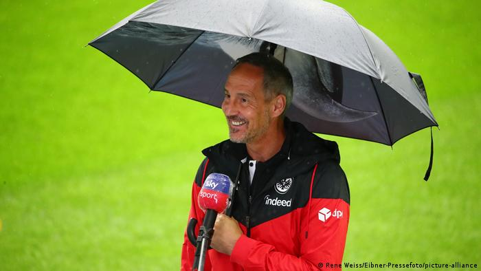 Adi Hütter continues to get the most out of this Frankfurt side