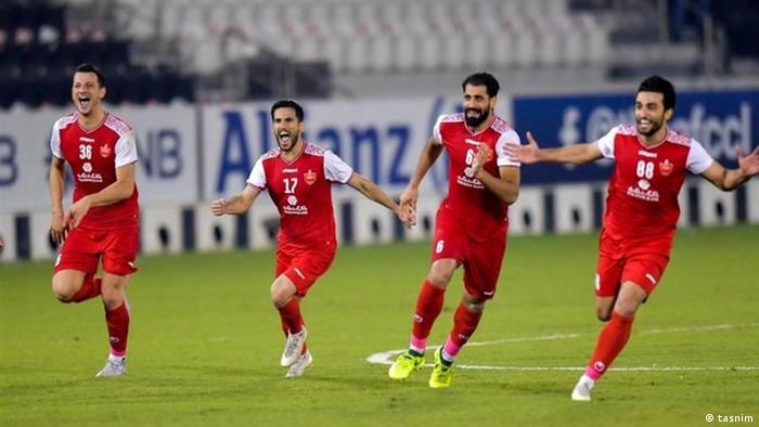 Persepolis Teheran, Halbfinale Champions League Asien gegen Al-Nasr (KSA) (tasnim)