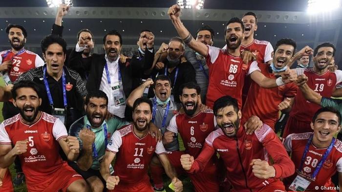 Persepolis Teheran, Halbfinale Champions League Asien gegen Al-Nasr (KSA) (Ghatreh)