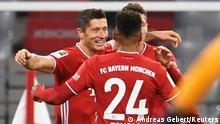 Fußball Bundesliga I FC Bayern Muenchen - Hertha BSC Berlin