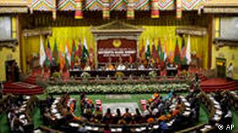 The SAARC summit meeting took place in the Bhutanese capital last year