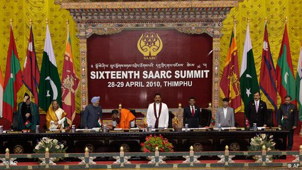 Bhutan South Asia Summit SAARC Gipfel Flash