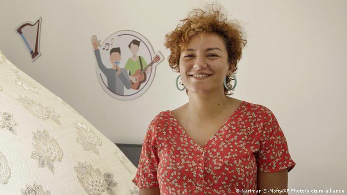 Basma Mostafa in Cairo, Egypt.