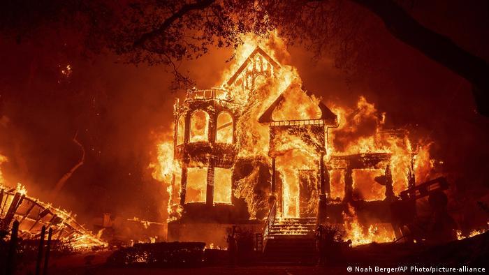 Kalifornien | Waldbrände (Noah Berger/AP Photo/picture-alliance)