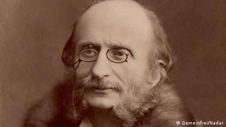 Jacques Offenbach fotografiert von Nadar