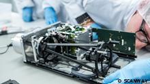 Deutschland Polen l Zusammenarbeit an Teilen für den SCANSAT-Satelliten