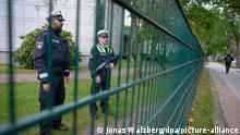 Deutschland Nach der Attacke vor Hamburger Synagoge